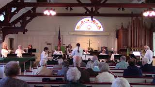 Nauset Ringers Handbell Choir at Fed Church Orleans 1-21-18