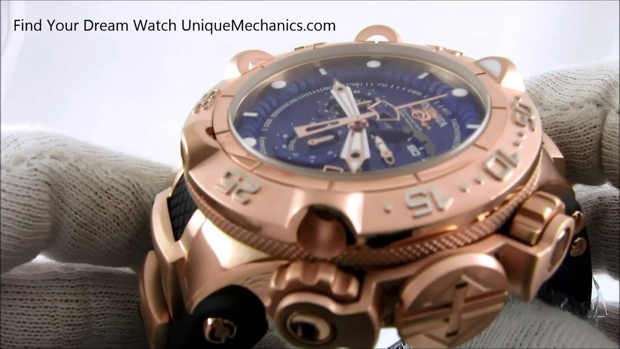 Invicta Watches Review Subaqua Noma 12883 Chronograph - YouTube 816bfe4dcdb