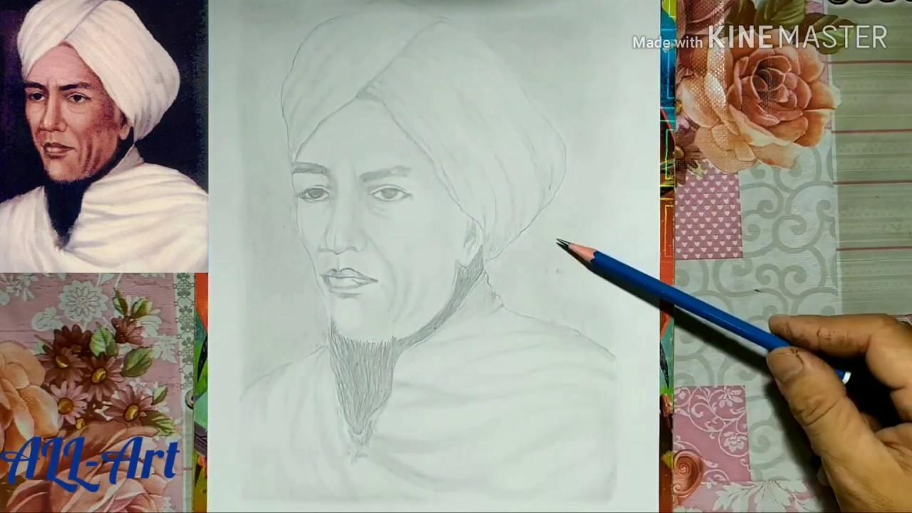 Gambar Pangeran Diponegoro Dan Imam Bonjol