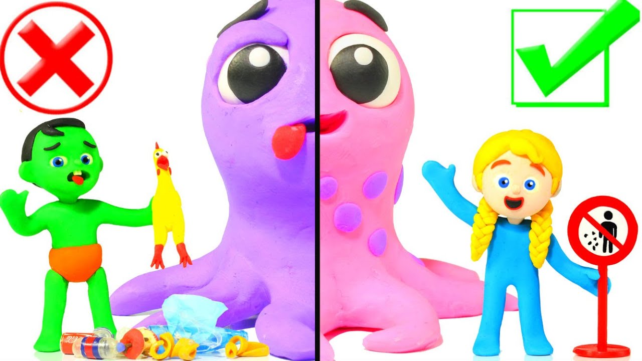 Healthy Octopus VS Sick Octopus 😱😱😱😱