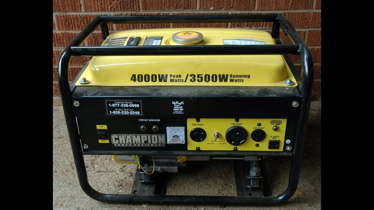maxresdefault champion c46540 generator maintenance youtube  at edmiracle.co