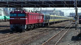 EF81 139+209系C503編成「配9145レ」KY入場 郡山駅構内推進運転 20180307