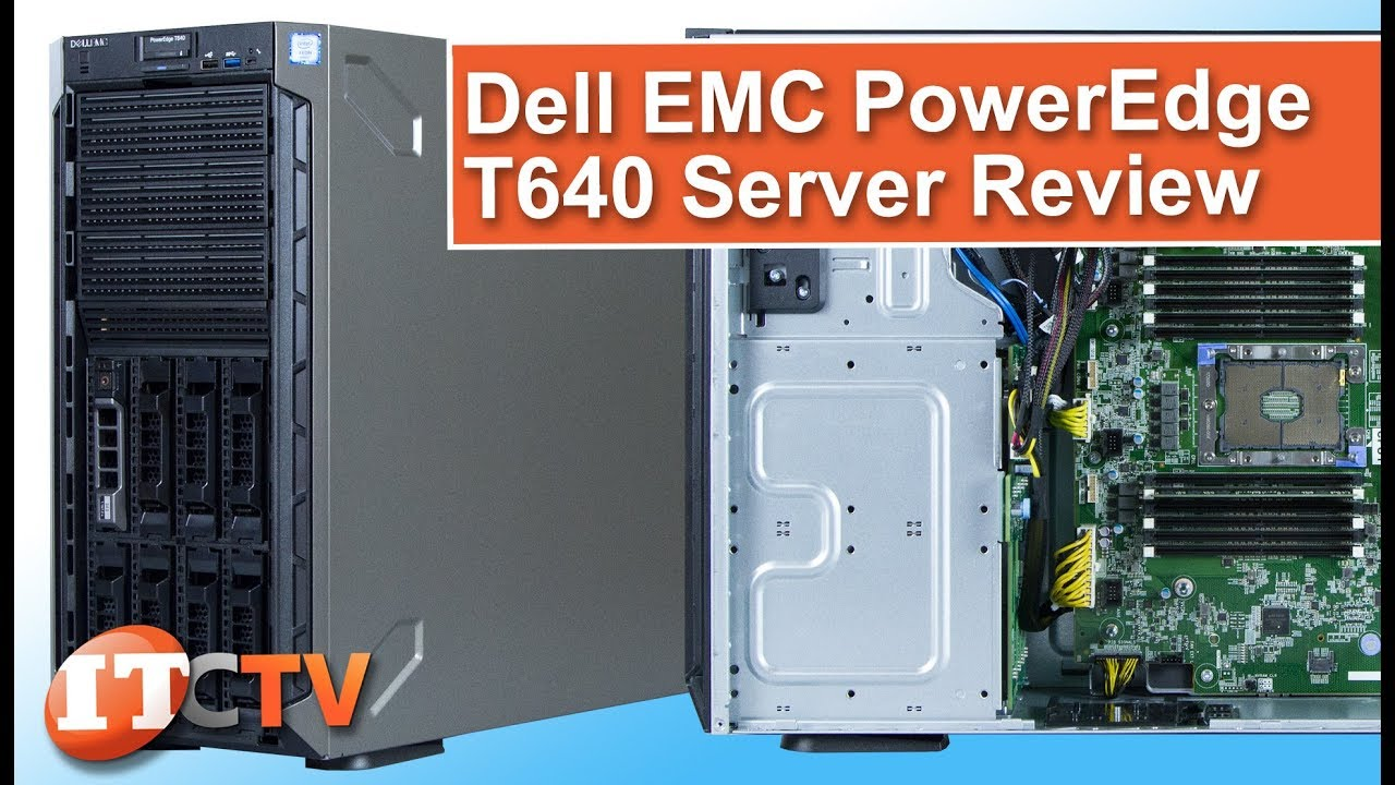 Dell EMC PowerEdge T640 Tower Server | IT Creations