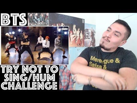 BTS Try Not To Sing/Hum/Move Along Challenge REACTION