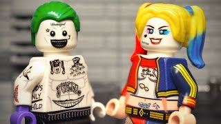 "Custom LEGO Joker and Harley Quinn from ""Suicide Squad""!"