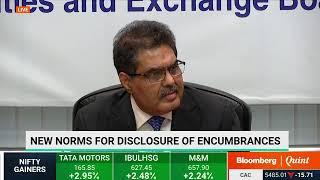 SEBI Chairman Ajay Tyagi Addresses Media After Board Meeting