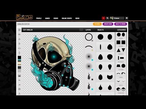 Rockstar Games Social Club Custom Crew Emblem / Logo