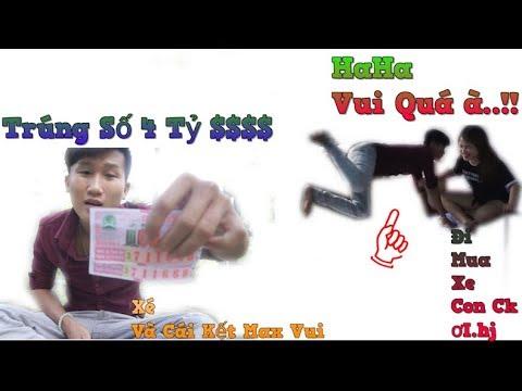 NVL - Trúng Số 4 Tỉ Và Xé Xem Phản Ứng Vợ Và Cái Kết Max Hài