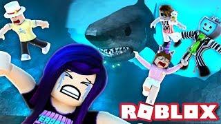THE SHARK GOT US ALL! | Roblox Sharkbite