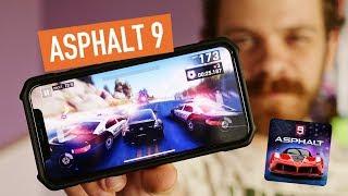 Обзор Asphalt 9 Legends. Максималка на iPhone X