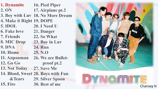 BTS Best Songs [Playlist for motivation and cheer up]