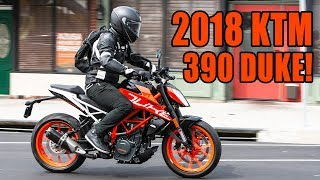 2018 KTM 390 Duke Fast Facts
