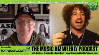 Ep. 361 Ari Herstand - Digital Distributors, Spotify Listeners and More!