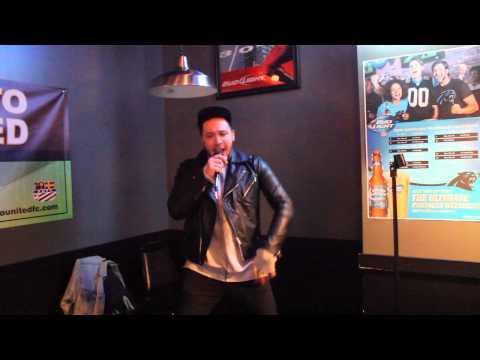 KARAOKE MIKE SHOW DAVIE SINGING WHEN A FOOL BELIEVES
