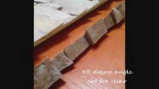 Installing A Stone Veneer Fireplace Surround | Diy Demonstration