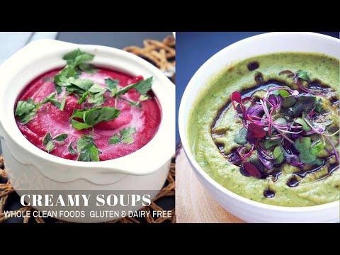 Whole30 Soup Recipes (Vegan, Gluten Free)