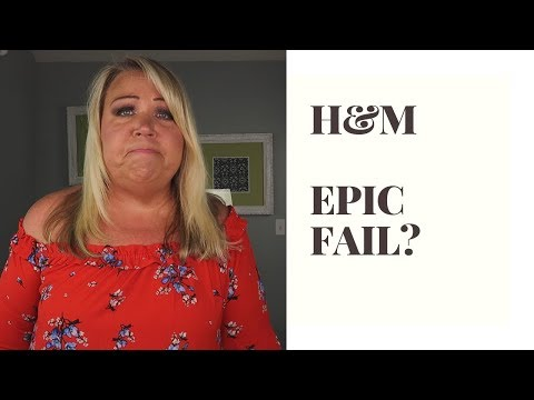 H&M PLUS AND STRAIGHT SIZE TRY-ON| REVIEW