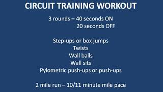 Connecticut State Police Candidate Workout Session