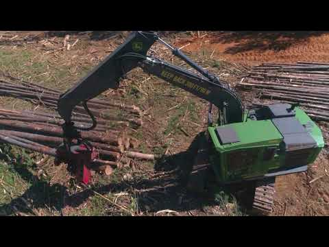 John Deere G-Series Swing Machines in the Southeast | Oakland Wood Products