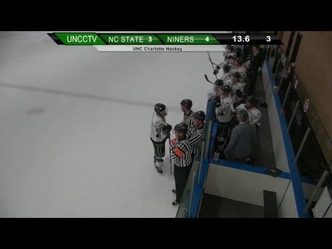 Niner Hockey at NC State