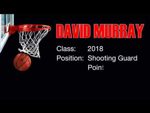 David Murray Basketball Highlights 2017 & 2018