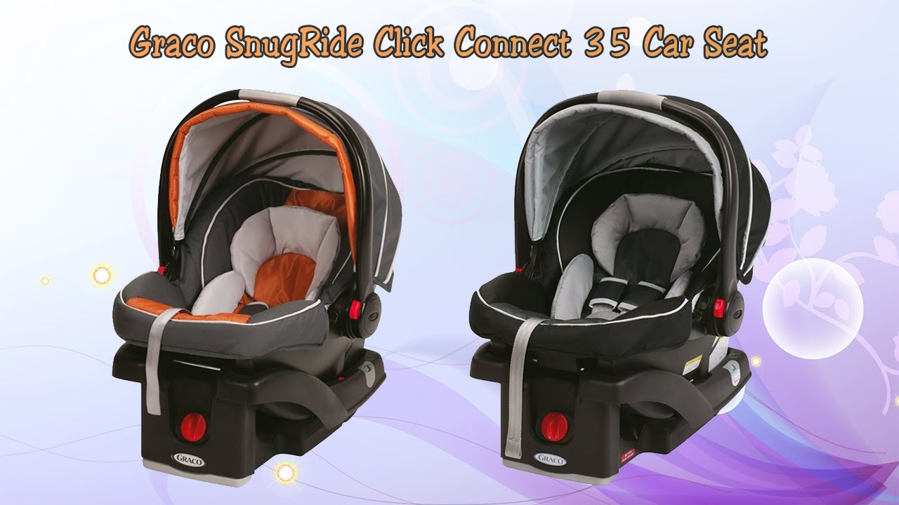 Graco SnugRide Click Connect 35 Infant Car Seat - Features - YouTube