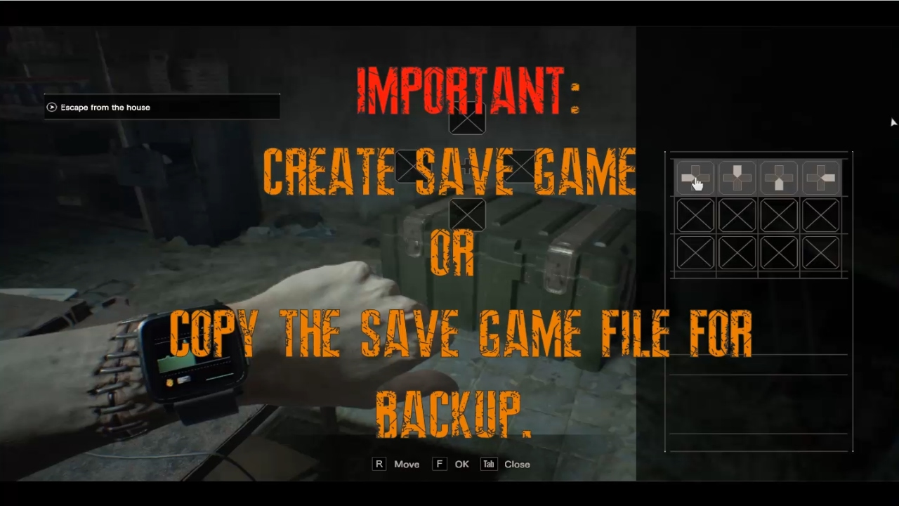 Resident Evil 7 - How to swap Item (Cheat Engine)