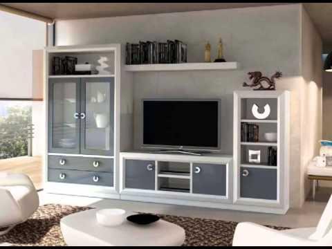 muebles de salon con vitrinas expositores y muebles de tv