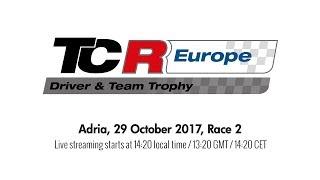 2017 Adria, TCR Europe Trophy Race 2