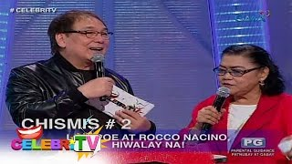 CelebriTV: Hiwalay na ba sina Lovi Poe at Rocco Nacino?