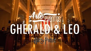 Arte Eventos - Harry Potter Wedding - Gherald y Leo - Bodas espectaculares