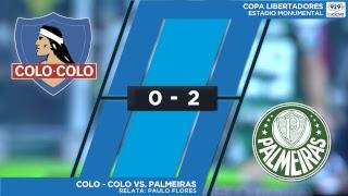 EN VIVO | Colo-Colo vs. Palmeiras | Copa Libertadores - Relata Paulo Flores en #ConclaveEnLaCancha