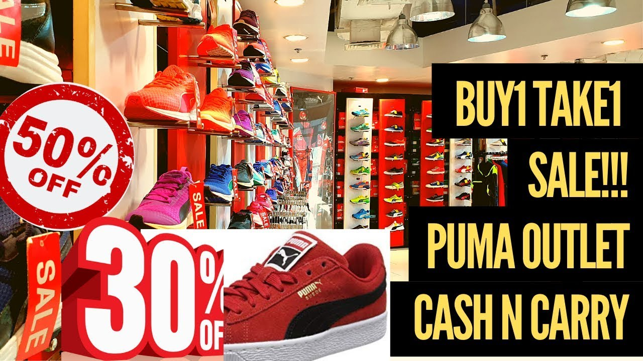 la meilleure attitude 8a8d3 13a94 SUPERSALE BUY 1 TAKE1 at Puma OUTLET Store Cash n Carry Makati
