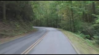 Stress Relieving Drive Through Smokey Mountains