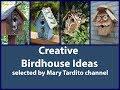 Creative Bird House Ideas - DIY Garden Decoration Ideas