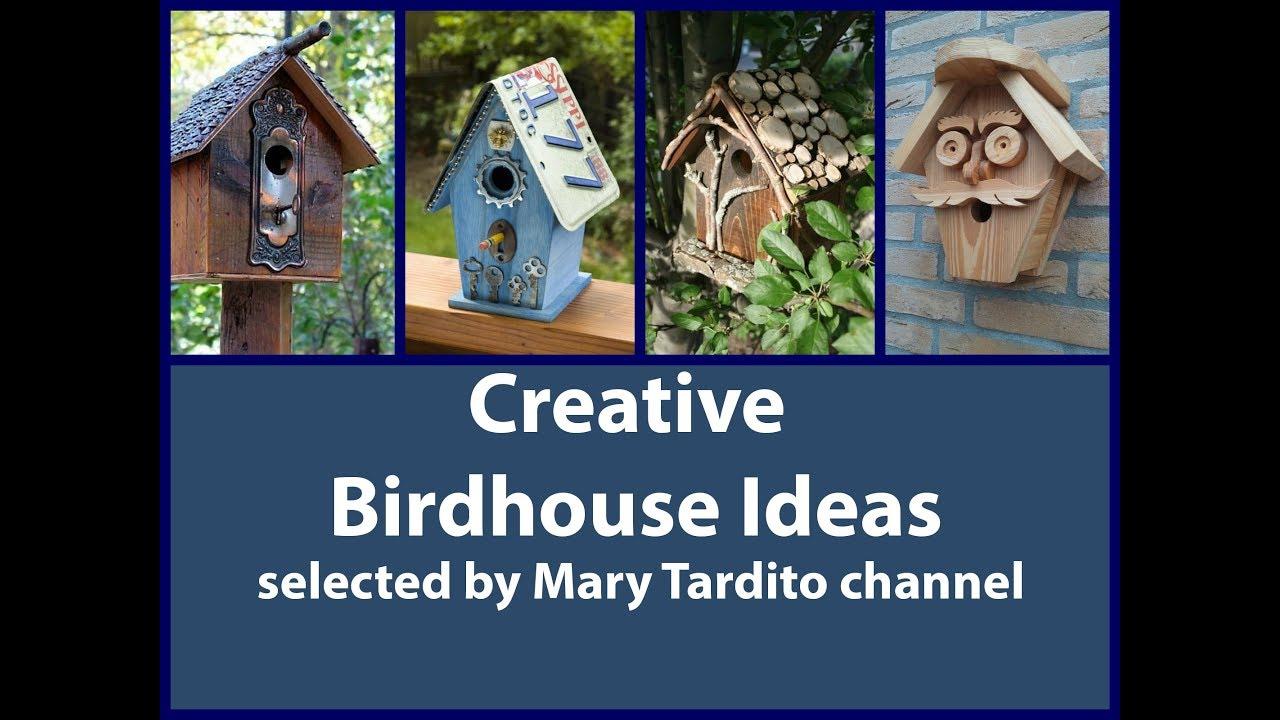 Creative Bird House Ideas Diy Garden Decoration Ideas