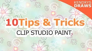 10 Useful tips and tricks - Clip studio Paint