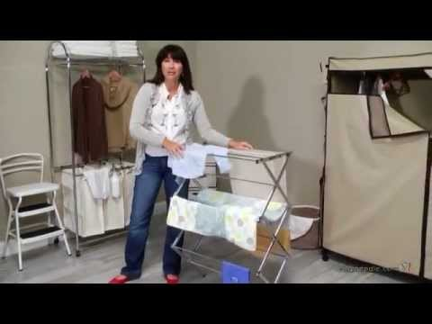honey-can-do-collapsible-metal-drying-rack---product-review-video