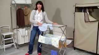 Honey Can Do Collapsible Metal Drying Rack - Product Review Video