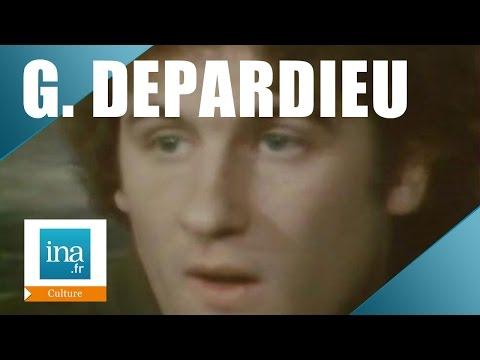 Gérard Depardieu 1976   Archive INA
