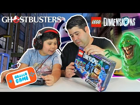 Lego Dimensions GamePlay GhostBusters Story Pack en Español I Abrelo Game Lego Dimensions