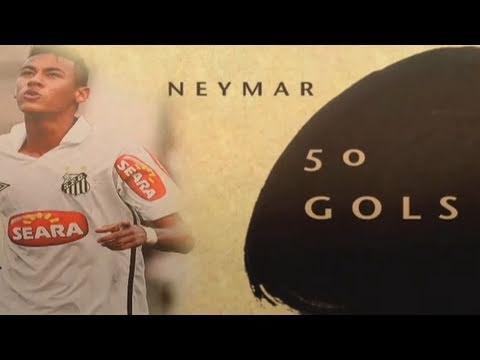 Neymar 50 - Os 50 primeiros gols do craque com a camisa do Santos