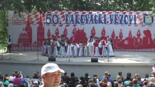 MALI VEZOVI (nastup skupina u Strossmayerovom parku) - Đakovo 2016