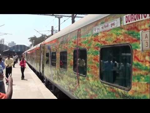 Inauguration of 22209 BCT-NDLS Duronto Express!!!!!
