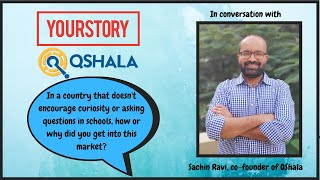 How did QShala get into this 'curious' market?