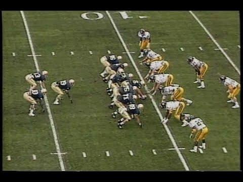 1989 Fiesta Bowl #1 Notre Dame vs #3 West Virginia No Huddle