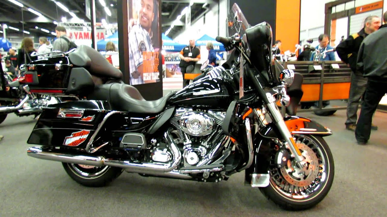 2012 harley davidson touring electra glide ultra limited at 2012 montreal motorcycle show youtube. Black Bedroom Furniture Sets. Home Design Ideas
