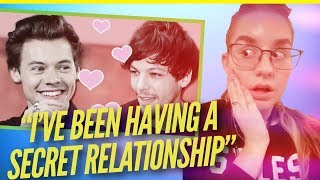 LOUIS ADMITS TO SECRET RELATIONSHIP, HARRY SUPPORTIVE BF, MORE BS