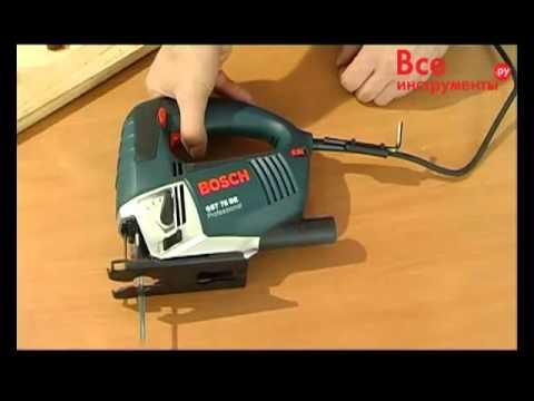 Лобзик с маятниковым ходом Bosch GST 75 BE