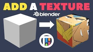 How to Add a Texture to an Object in Blender 2.8 Eevee